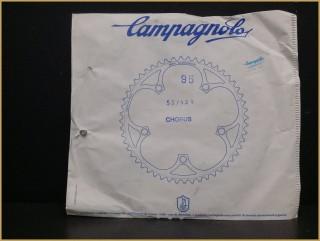 """Plateau NOS """"CAMPAGNOLO CHORUS"""" 53 dents (Ref 444)"""