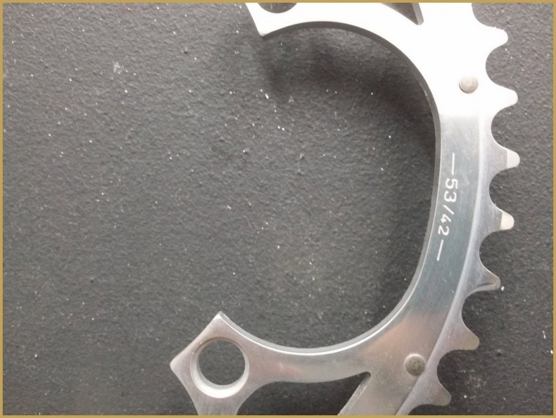 """Kaffee-UNSERE """"CAMPAGNOLO CHORUS"""" 53d BCD 135 (Ref 444)"""